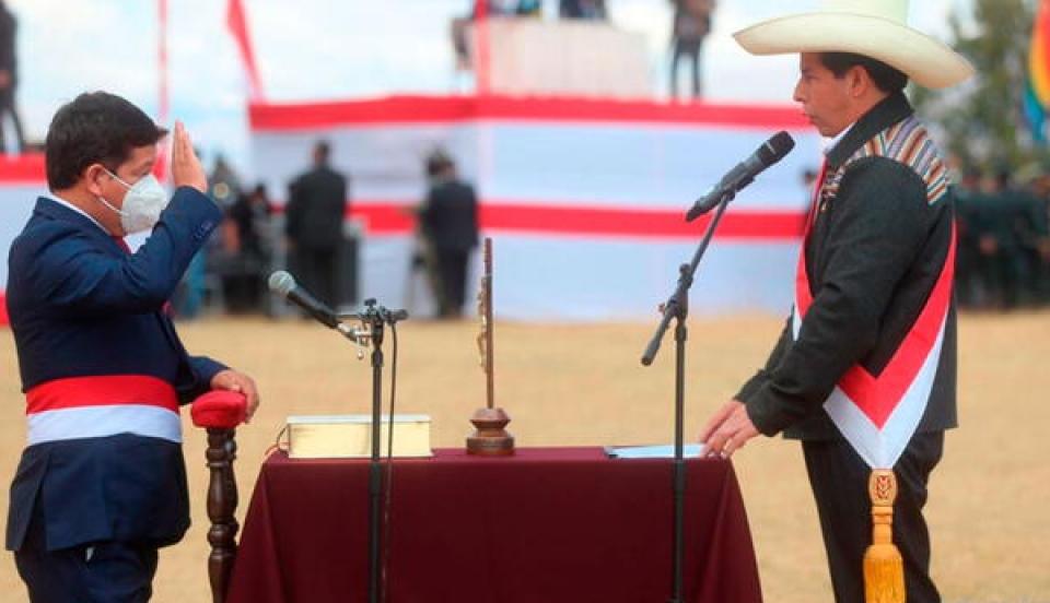 Pedro Castillo: Conoce quiénes conforman el gabinete ministerial