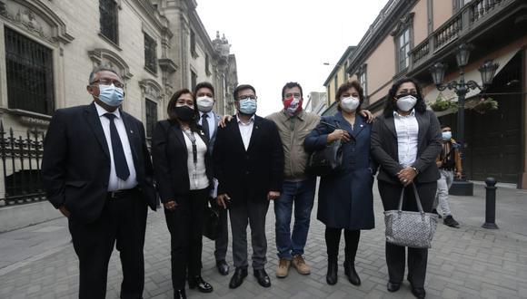 """Acción Popular tras críticas de Yonhy Lescano: """"Guardamos plena independencia en las decisiones que tomamos"""""""