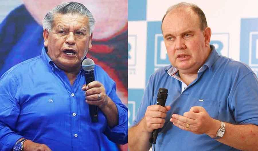Elecciones 2021: César Acuña dice que Rafael López Aliaga se comporta como un patán