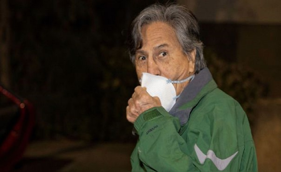 Alejandro Toledo vuelve a incumplir arresto domiciliario en Estados Unidos y se excusa