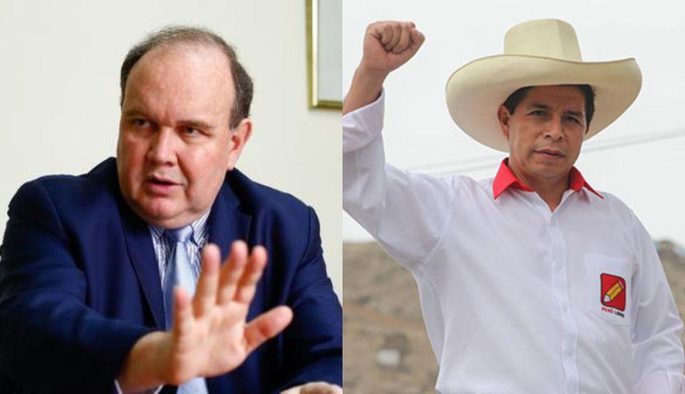 Rafael López Aliaga niega apoyo al partido de Pedro Castillo