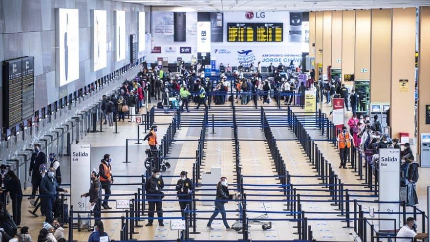 COVID-19: Se amplía suspensión de vuelos de Europa y Brasil