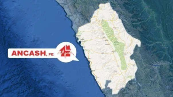 IGP registra esta noche sismo de 4.0 en Áncash