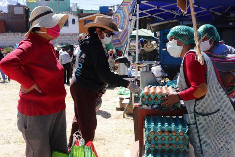 Comando COVID de Arequipa: Reportan mercados que no acatan las medidas de bioseguridad