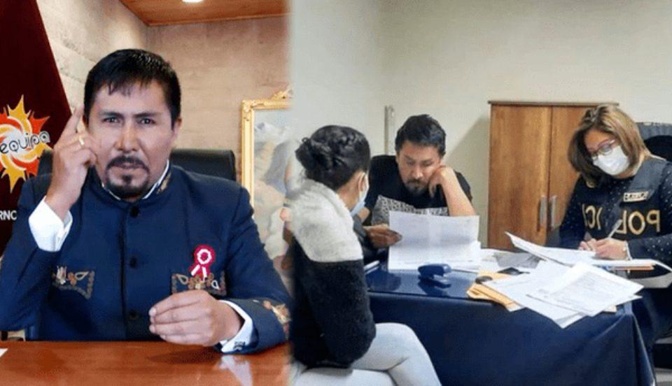 Caso Los Hijos del Cóndor: Detienen al gobernador regional de Arequipa