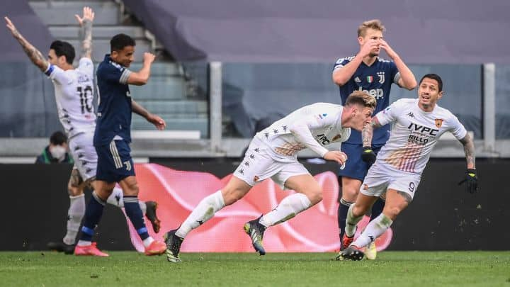 Serie A: Juventus es sorprendido por el Benevento de Lapadula y cae 1-0 [VIDEO]