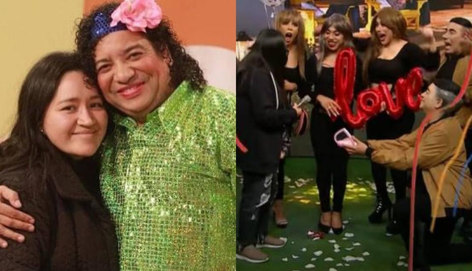 [VIDEO] Carlos Vílchez le pide matrimonio a su pareja durante sketch del programa JB en ATV