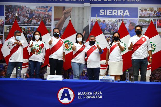 Elecciones 2021: César Acuña brinda apoyo político a Keiko Fujimori de cara a la segunda vuelta