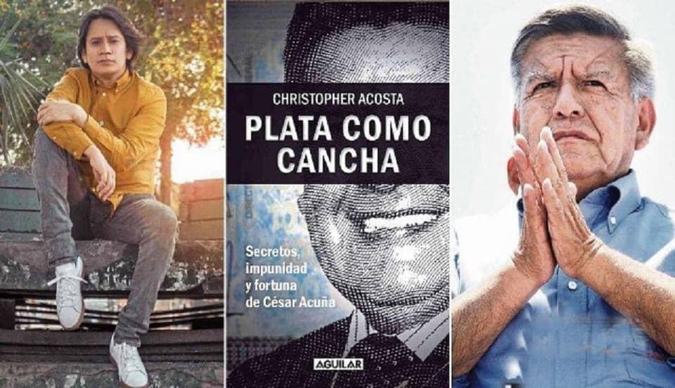 """César Acuña tras demanda a periodista: """"Todo lo escrito en ese libro no es cierto"""""""