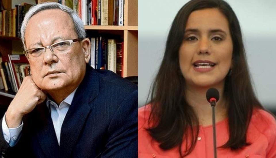 """César Hildebrant cuestiona a Verónika Mendoza: """"No ha dado respuestas a las vergonzosas alianzas"""""""