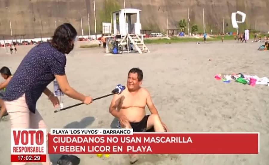 Personas van a playas de Lima tras ausencia de resguardo policial [VIDEO]