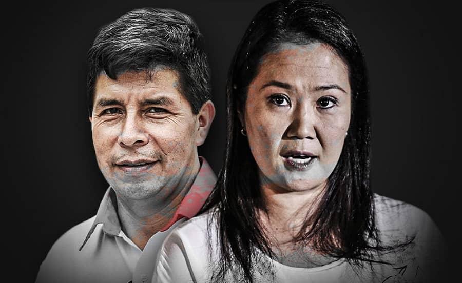 ONPE al 99.972%: Pedro Castillo (19.111%) y Keiko Fujimori (13.363%) encabezan los resultados