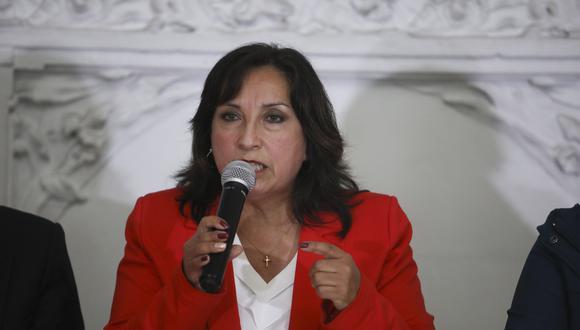 Dina Boluarte niega vinculación en el caso Los Dinámicos del Centro