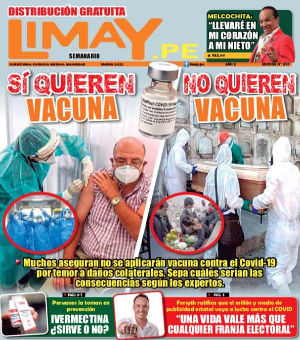 Si quieren vacuna -o no quieren vacuna