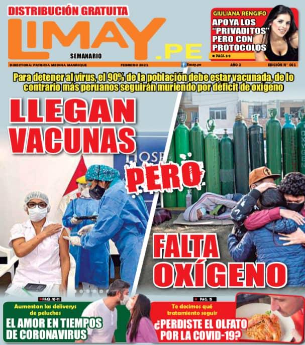 Llegan vacunas pero falta oxígeno