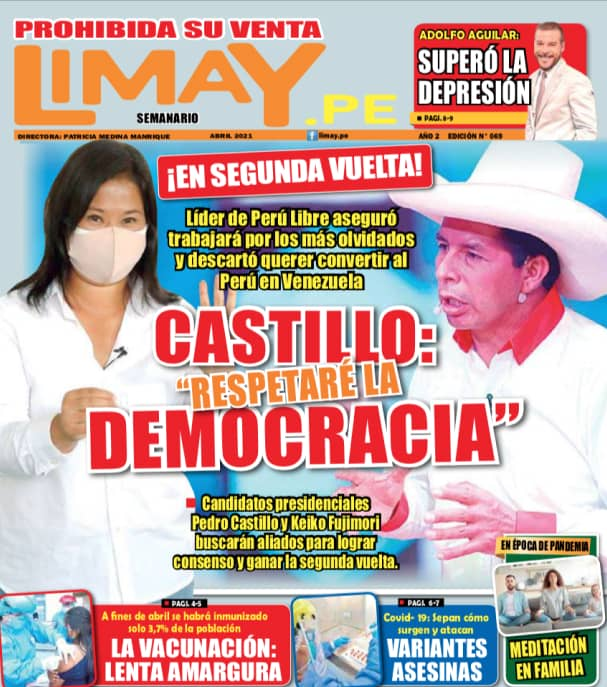 "Castillo: ""Respetaré la democracia"""
