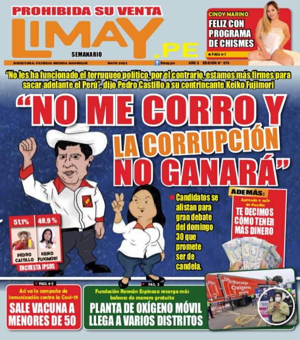 Edición Impresa 74 - No me corro y la corrupción no ganará.