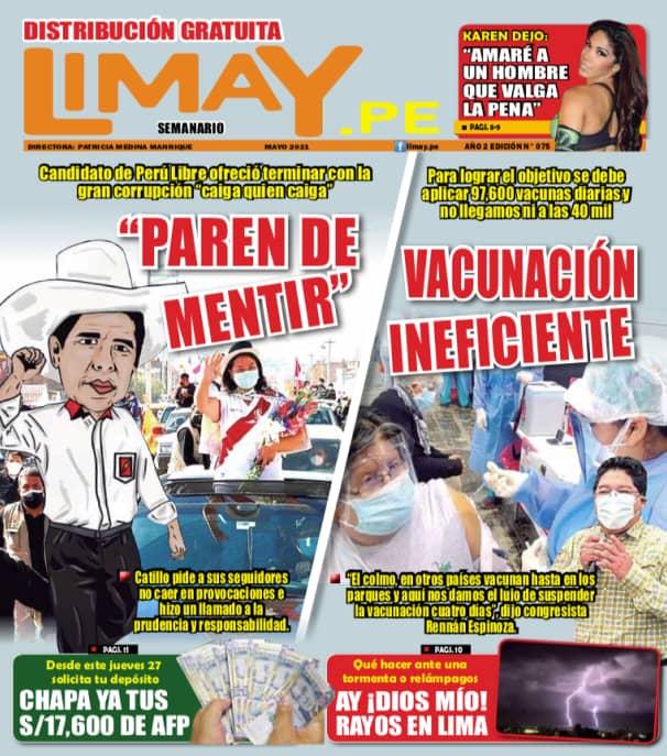 Edición Impresa 75: Paren de Mentir.