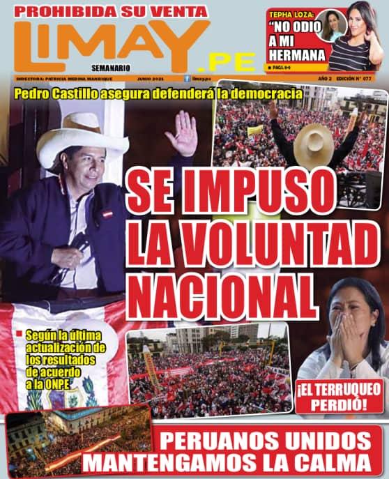 Edición Impresa 77: Se impuso la voluntad nacional