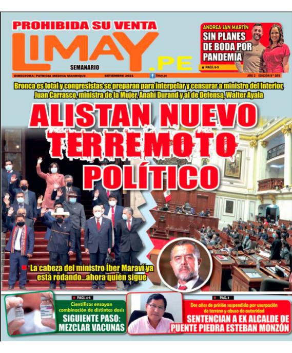 Edición Impresa 89: alistan nuevo terremoto Político