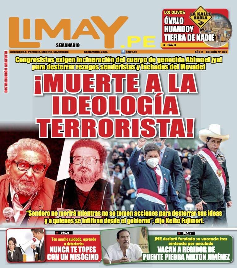 Edición Impresa 91: ¡Muerte a la ideología terrorista!