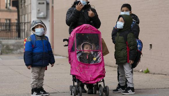 Niños no serán obligados a estar vacunados para ingresar a Estados Unidos