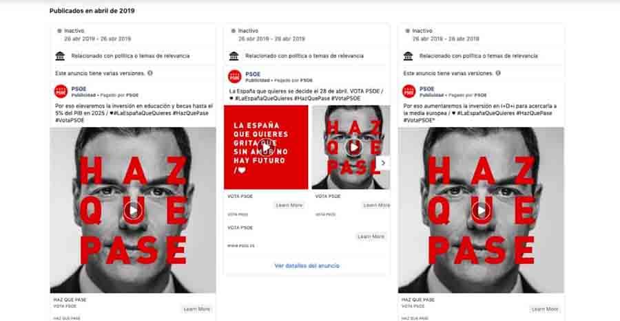 Elecciones 2021: Identidad de auspiciadores de partidos políticos en Facebook será revelada desde hoy