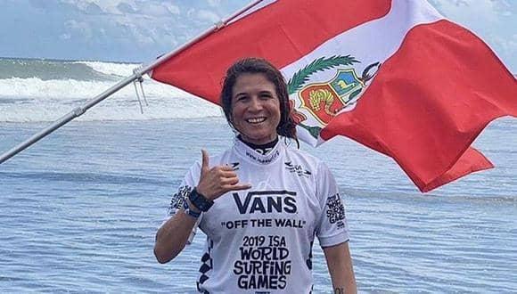 !Sofía Mulanovich podrá competir en el Mundial ISA de El Salvador!