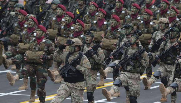 Fiestas Patrias: Hoy se realizará tradicional Parada Militar sin público