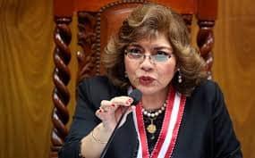 La fiscal Zoraida Ávalos aseguró que no recibió vacuna de Sinopharm