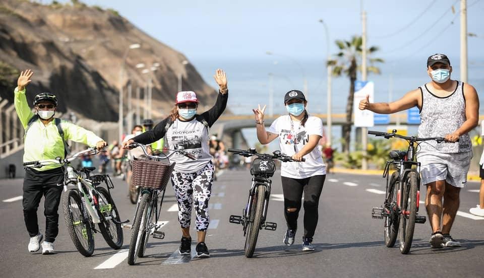 (FOTO) No más 'Domingos sin autos' en la Costa Verde hasta acabar vacunación contra el COVID-19