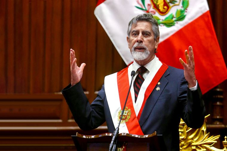 [EN VIVO] Francisco Sagasti lleva a cabo su última conferencia de prensa como presidente del Perú