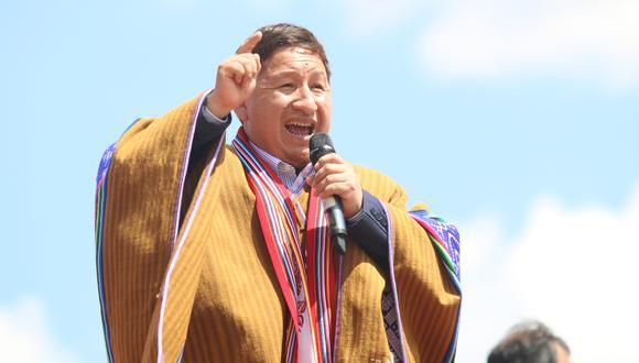 """Guido Bellido: """"El pueblo no tolerará traiciones"""""""