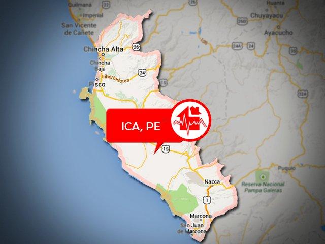 Ica: Registran sismo de magnitud 4 en Pisco esta mañana