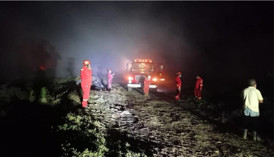Incendio forestal consume 35 hectáreas de pastizales en Áncash