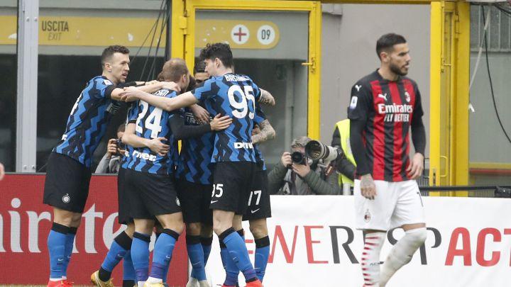 Inter vence 3-0 al AC Milan
