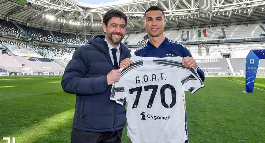 """Juventus: """"Cristiano Ronaldo es el mejor jugador del mundo y queremos seguir con él"""""""