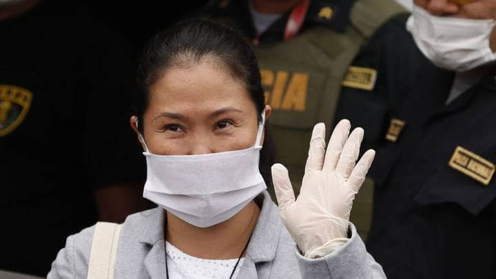 "Keiko Fujimori: ""No vamos a apoyar ninguna iniciativa que busque algún tipo de censura o vacancia del presidente"""