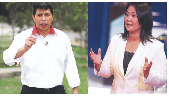 """Keiko Fujimori sobre Pedro Castillo: """"Espero que el candidato no siga evadiendo el debate"""""""