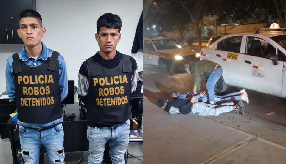 Los Olivos: Delincuentes fueron capturados luego de asaltar a una joven