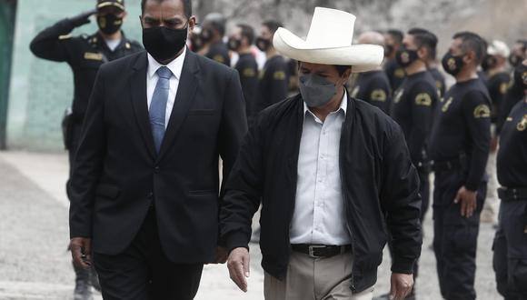 Luis Barranzuela se reunió con Pedro Castillo en Palacio de Gobierno