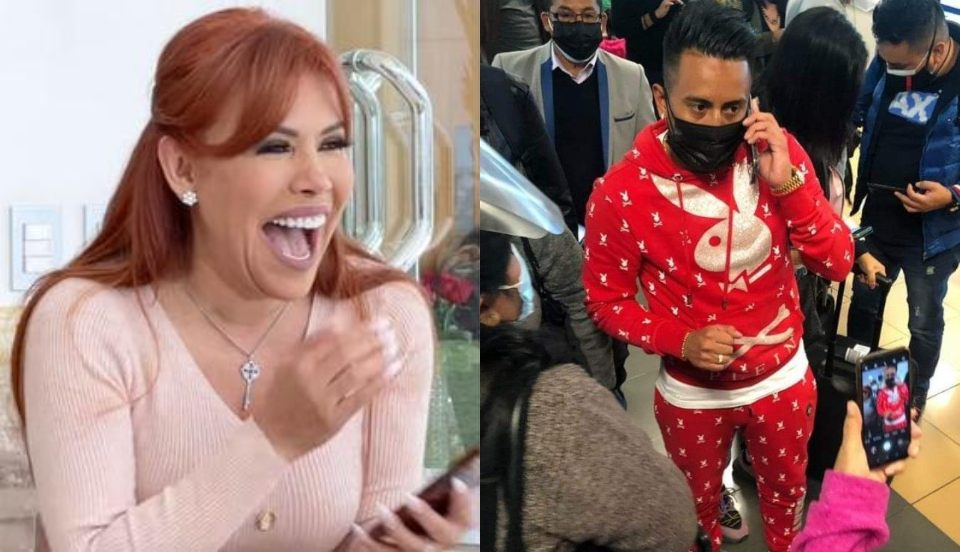 """Magaly Medina critica el buzo de Christian Cueva: """"Se compra lo que nadie quiere comprarse"""""""