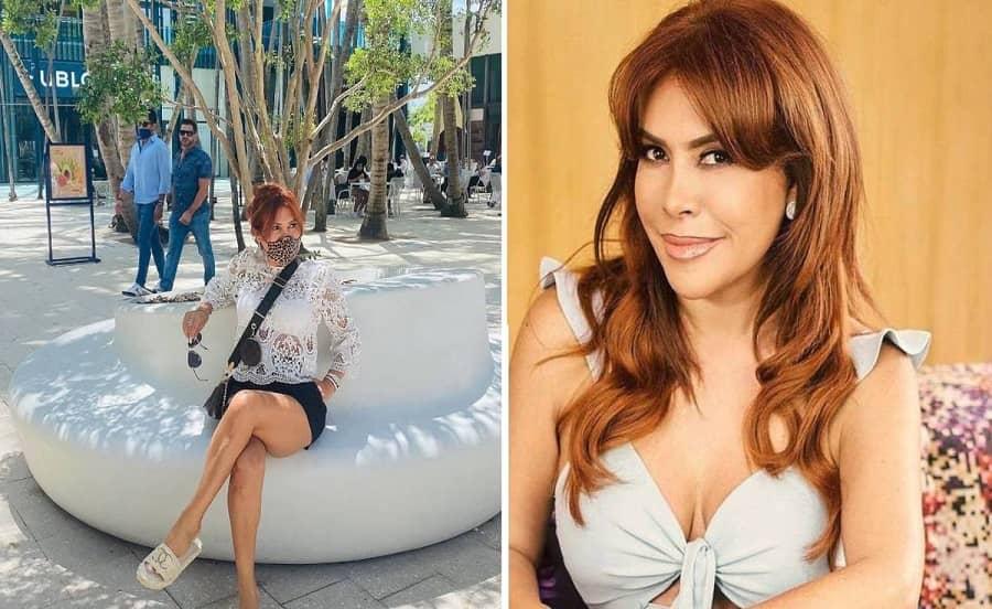 [FOTOS] Magaly Medina estaría disfrutando de su soltería en playas de Miami