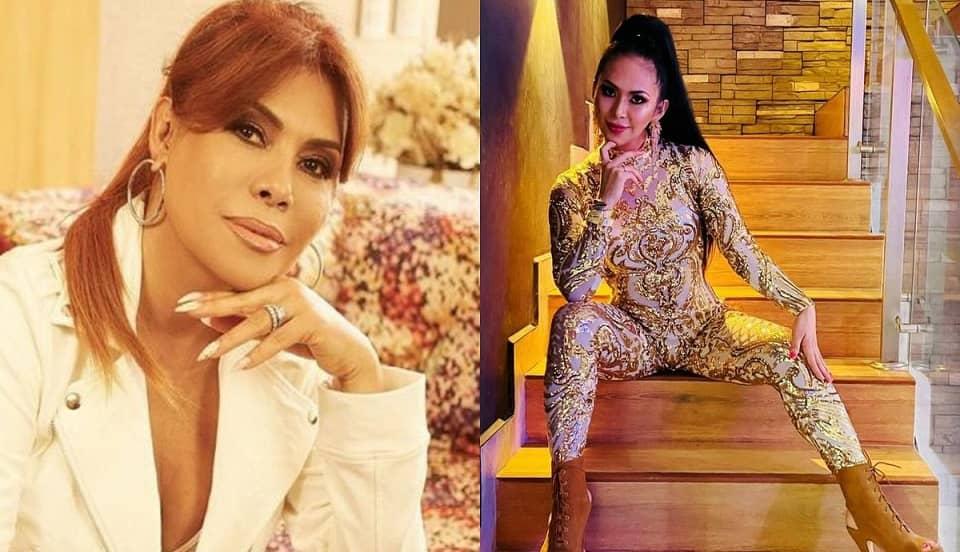 """Magaly Medina llama """"mentirosa"""" a vocalista de Explosión de Iquitos al justificar 'privaditos'"""