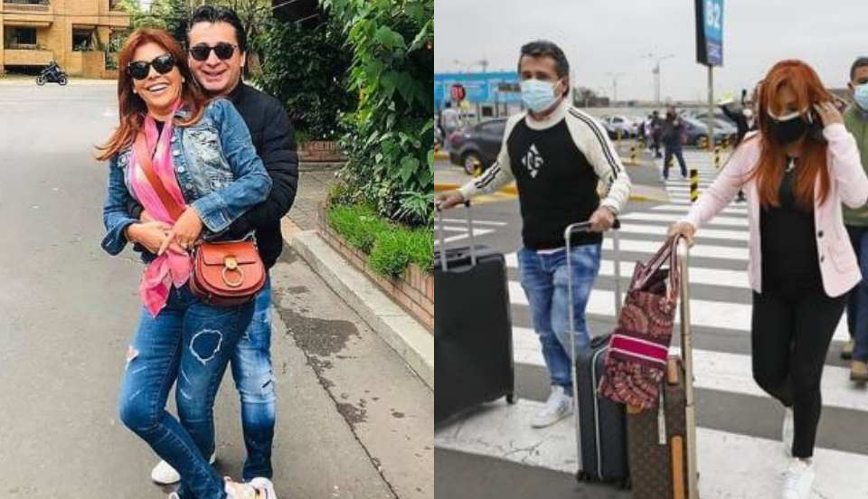 Magaly Medina y Alfredo Zambrano viajan juntos a Europa