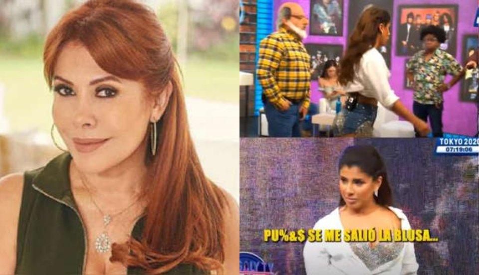 """Magaly Medina critica a Yahaira Plasencia por presentarse con """"aires de diva"""" a JB en ATV"""