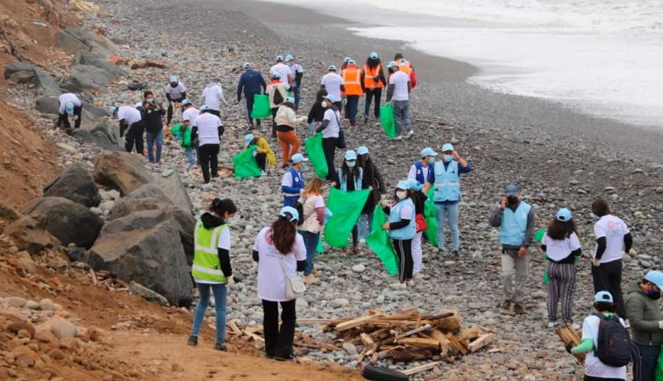 Municipalidad de Magdalena recolecta más de 4 toneladas de basura en playas