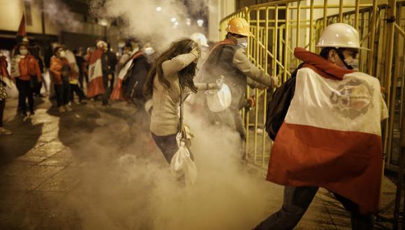 Fuerza Popular: Sujetos que participaron en actos de violencia en el Centro de Lima fueron identificados