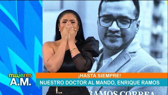 """Maricarmen Marín tras la muerte de  médico Enrique Ramos: """"Te voy a recordar con esa sonrisa"""""""