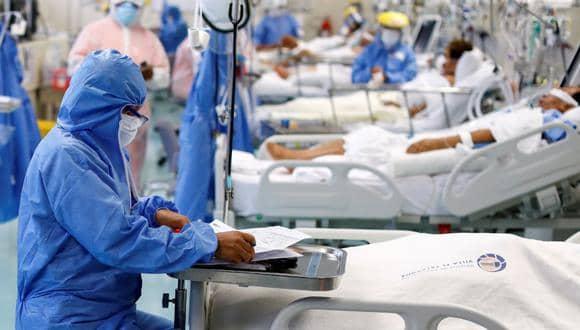 COVID-19: Dos mil pacientes están a  la espera de una cama UCI